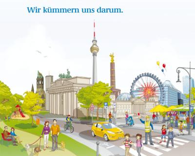 Imagekampagne Berliner Ordnungsämter
