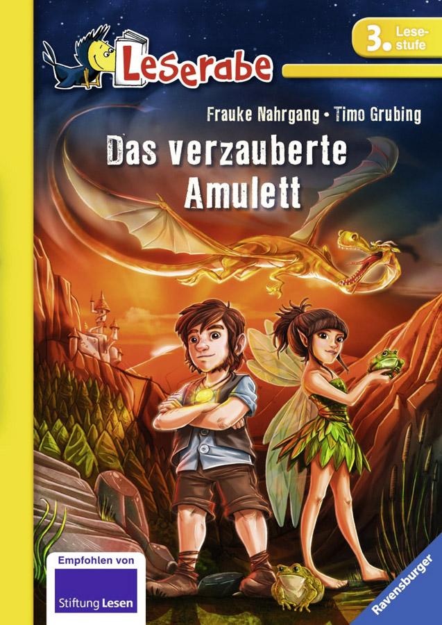 """Cover """"Das verzauberte Amulett"""""""
