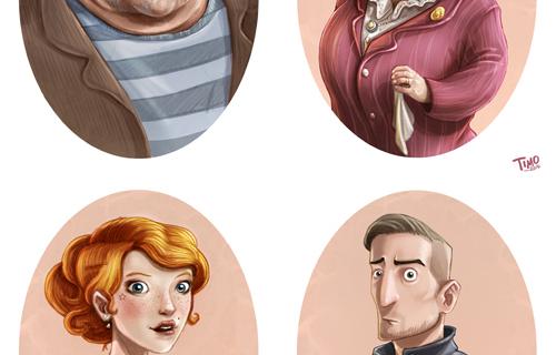 Charakter Portraits